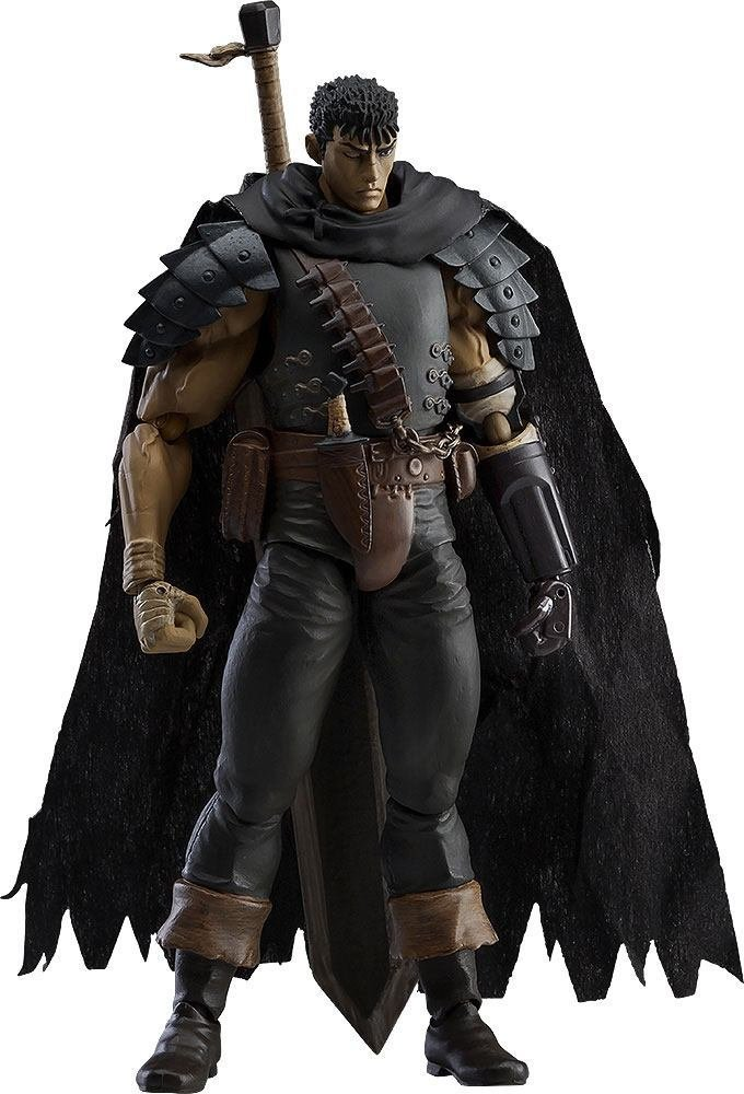 Berserk Figma Action Figure Guts Black Swordsman Ver. Repaint Edition