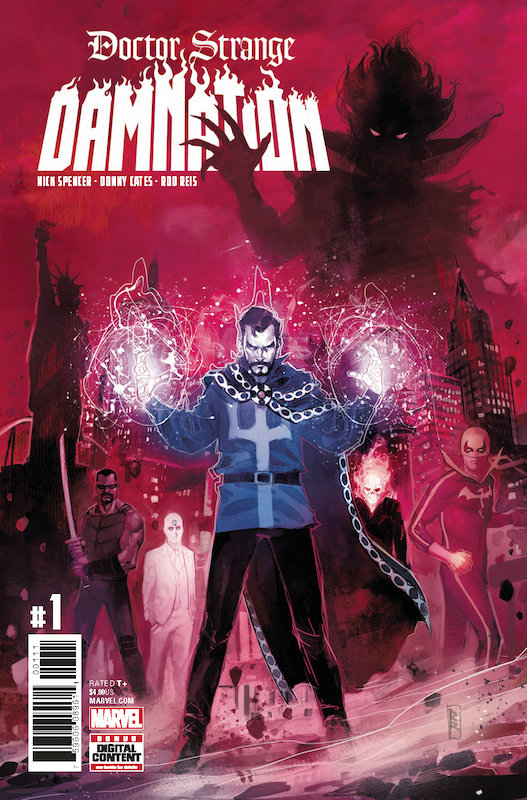 DOCTOR STRANGE DAMNATION #1