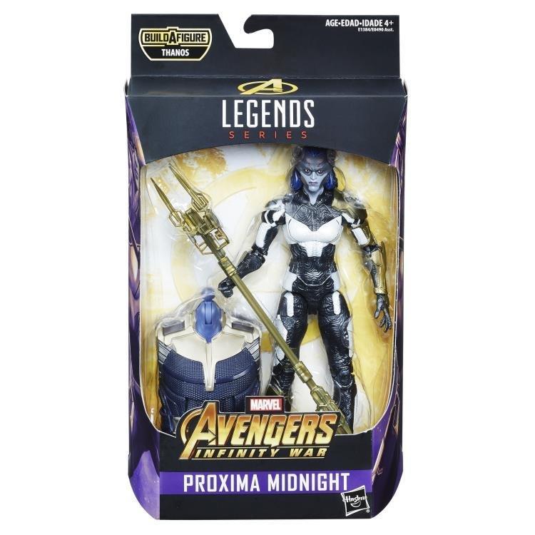 Proxima Midnight figure Avengers:Infinity War Marvel Legends Wave 1