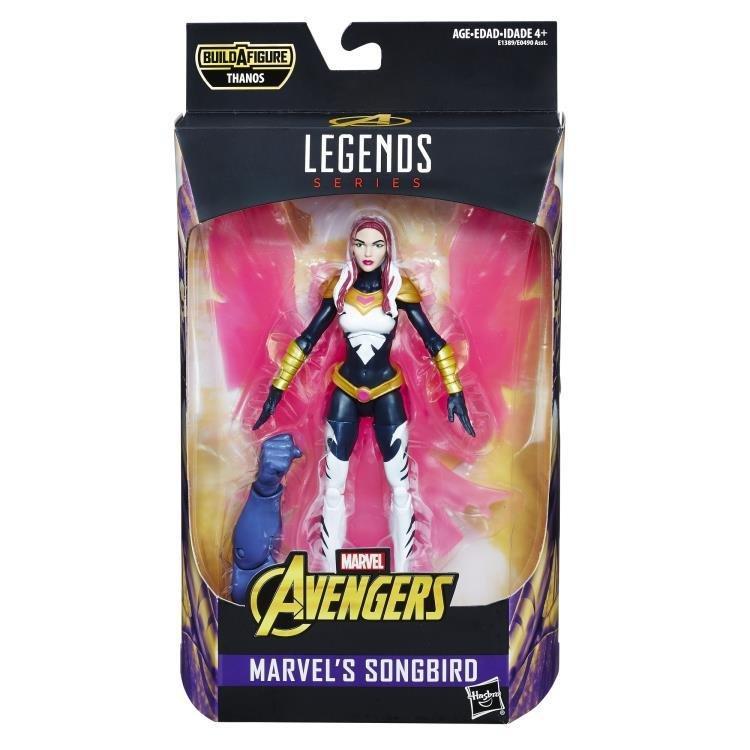 Songbird figure Avengers: Infinity War Marvel Legends Wave 1