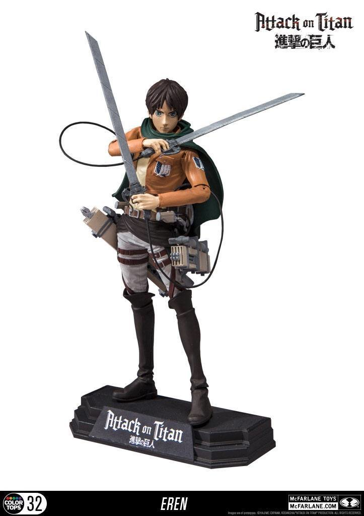 Attack on Titan Color Tops Action Figure Eren Jaeger