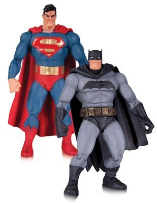 The Dark Knight Returns Action Figure 2-Pack Superman & Batman 30th Anniversary