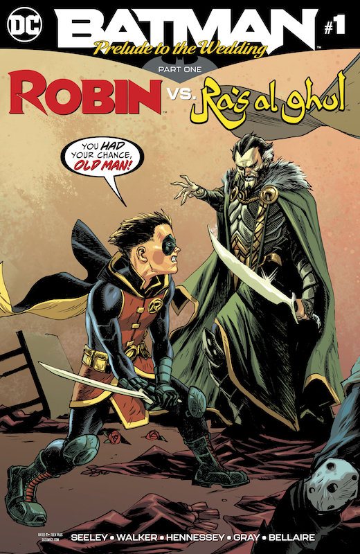 BATMAN PRELUDE TO THE WEDDING ROBIN VS RAS AL GHUL #1