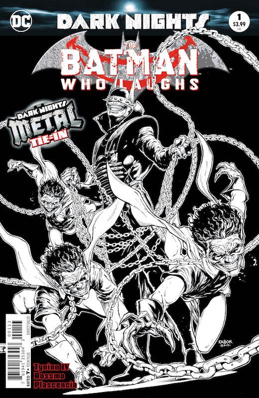 BATMAN WHO LAUGHS #1 3RD PTG METAL