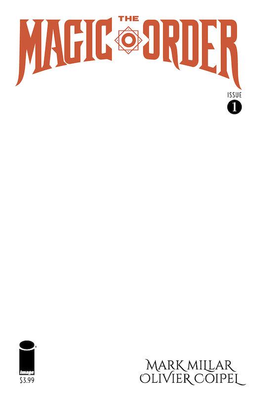 MAGIC ORDER #1 (OF 6) CVR D BLANK VARΙΑΝΤ