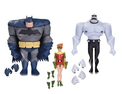 BATMAN ANIMATED BATMAN ROBIN MUTANT AF 3 PACK