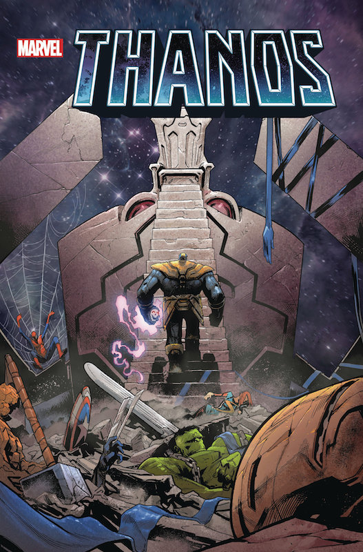THANOS WINS BY DONNY CATES TP SHAW DM VARIANT