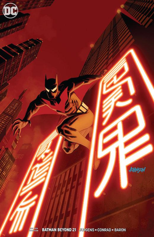 BATMAN BEYOND #21 VARIANT  EDITION