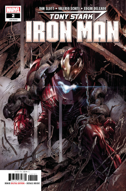 TONY STARK IRON MAN #2