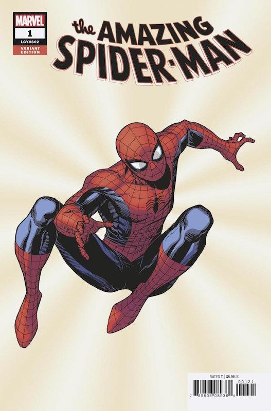 AMAZING SPIDER-MAN #1 CHEUNG VARIANT