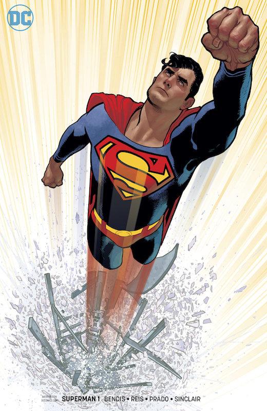 SUPERMAN #1 HUGHES VARIANT