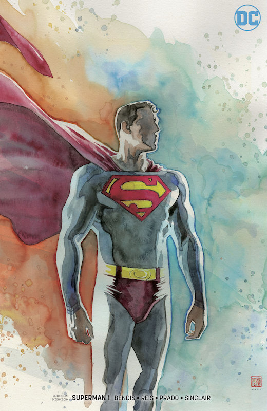 SUPERMAN #1 MACK VARIANT