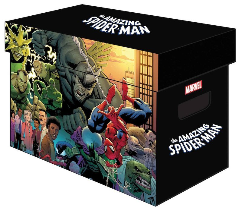 MARVEL GRAPHIC COMIC BOXES AMAZING SPIDER-MAN