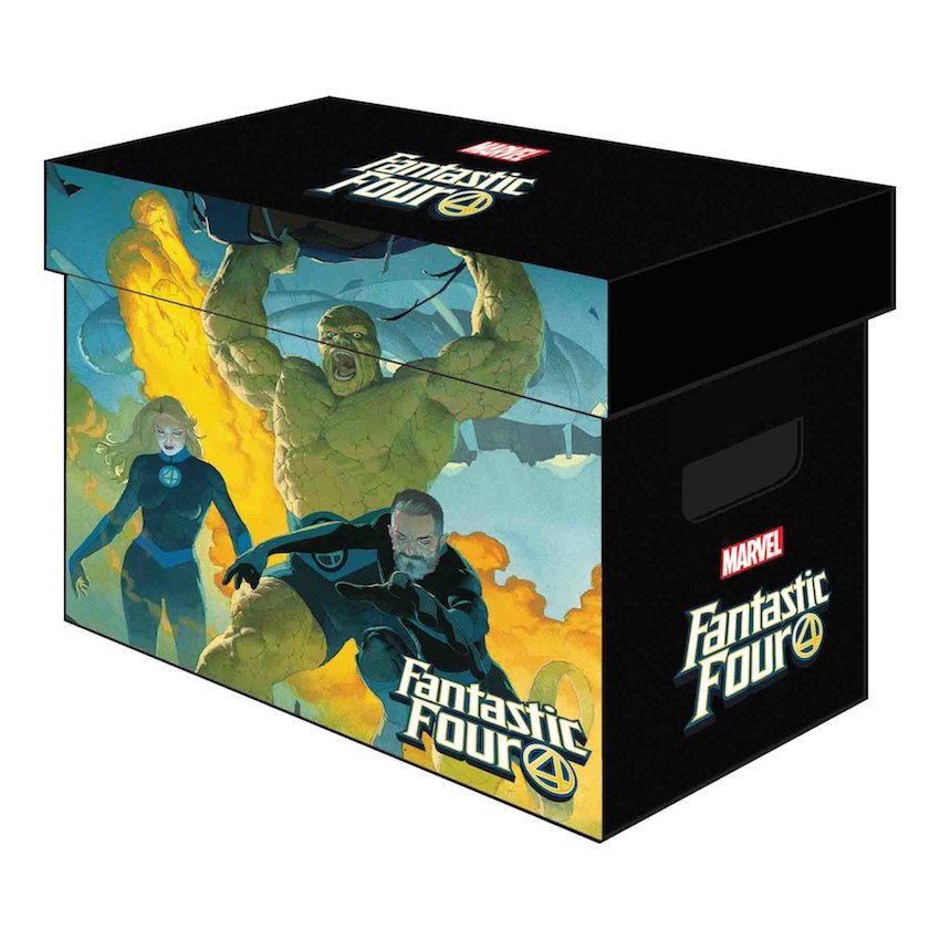 MARVEL GRAPHIC COMIC BOXES FANTASTIC FOUR