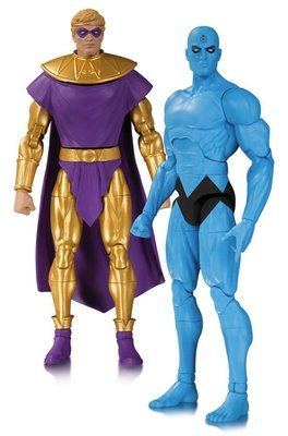 Doomsday Clock Action Figure 2-Pack Ozymandias & Dr. Manhattan