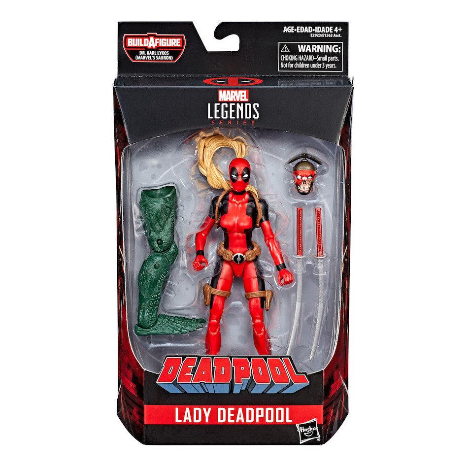 Lady Deadpool   Marvel Legends Deadpool Wave 2