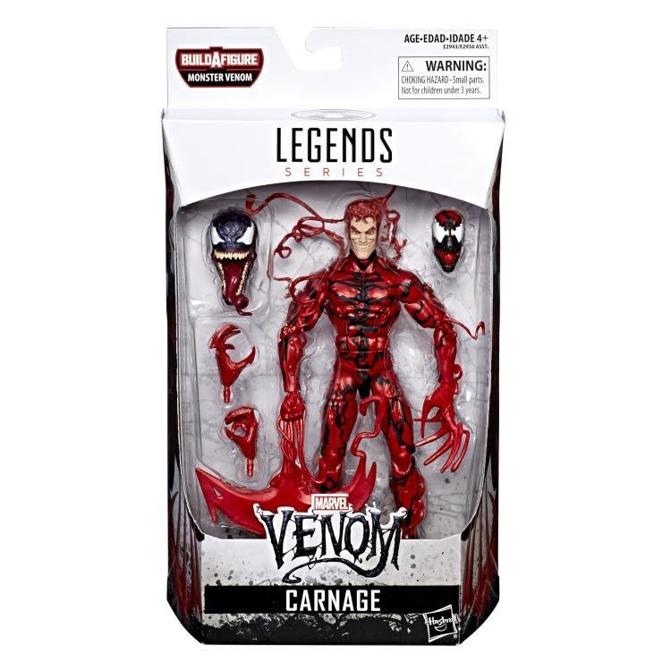 Carnage  (Venom Marvel Legends Wave 1)