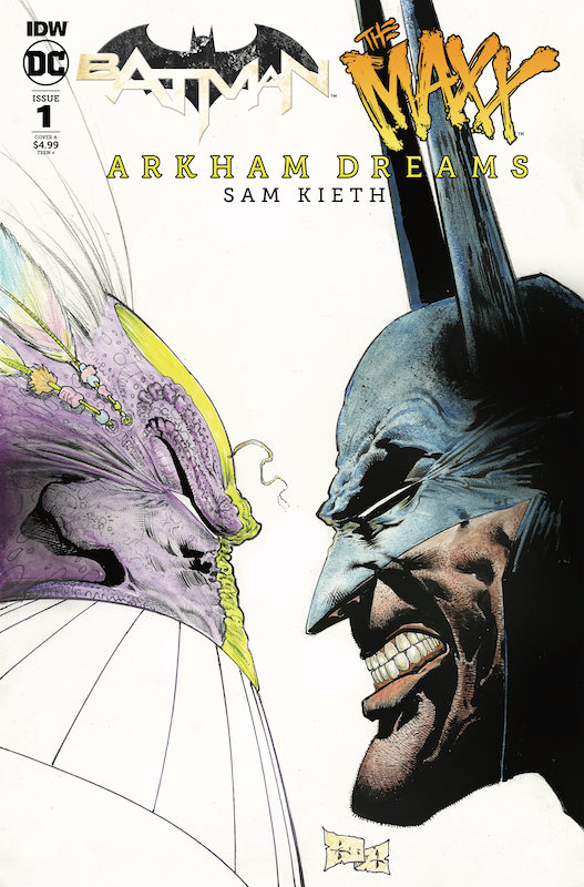 BATMAN THE MAXX #1 (OF 5) ARKHAM DREAMS CVR A KIETH