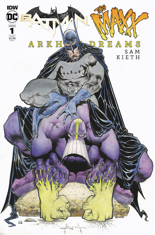 BATMAN THE MAXX #1 (OF 5) ARKHAM DREAMS CVR B KIETH
