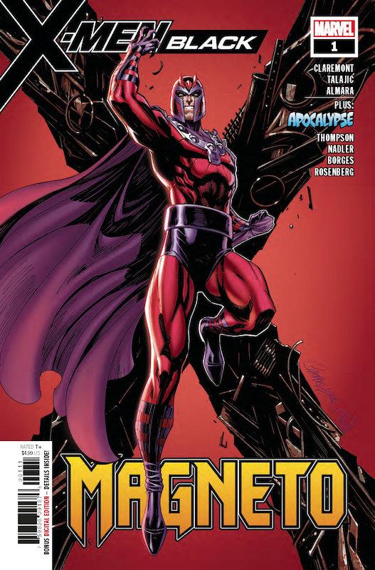 X-MEN BLACK MAGNETO #1