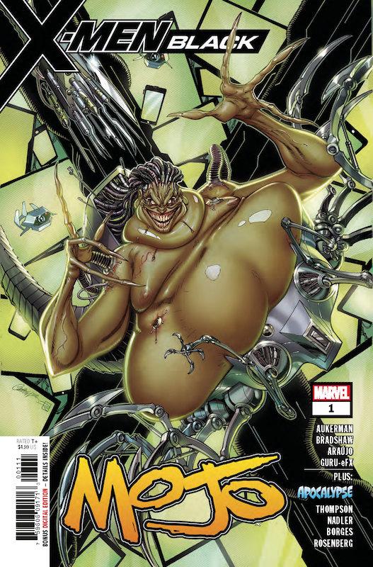 X-MEN BLACK MOJO #1