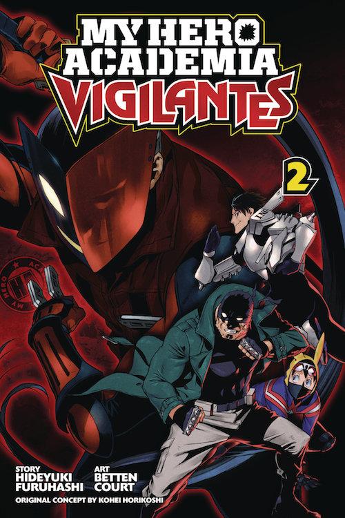 MY HERO ACADEMIA VIGILANTES  VOL 02