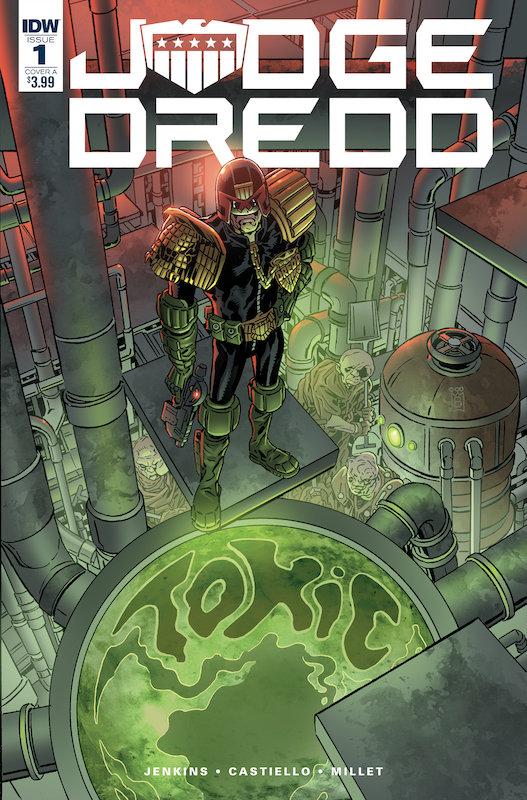 JUDGE DREDD TOXIC #1 CVR A BUCKINGHAM