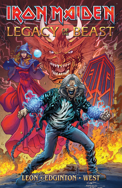 IRON MAIDEN LEGACY OF THE BEAST TP