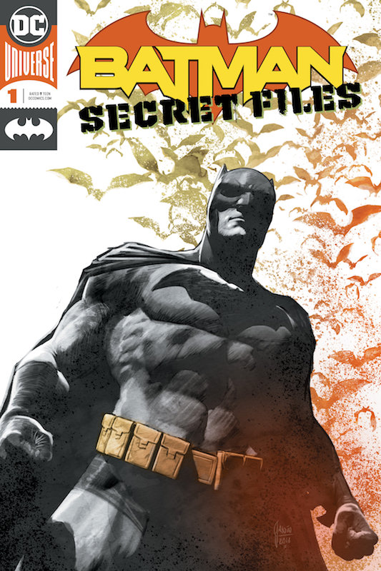 BATMAN SECRET FILES #1 FOIL