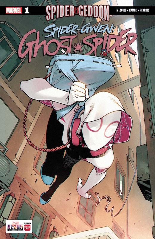SPIDER-GWEN GHOST-SPIDER #1 SG