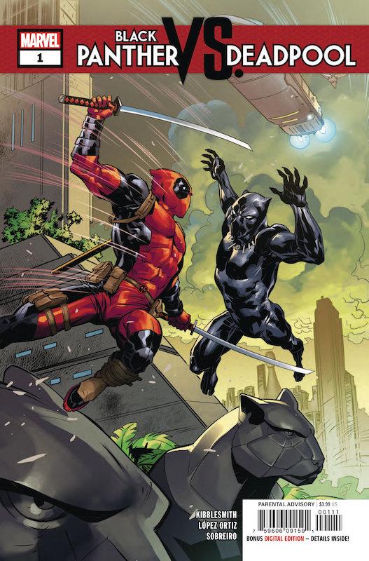 BLACK PANTHER VS DEADPOOL #1 (OF 5)