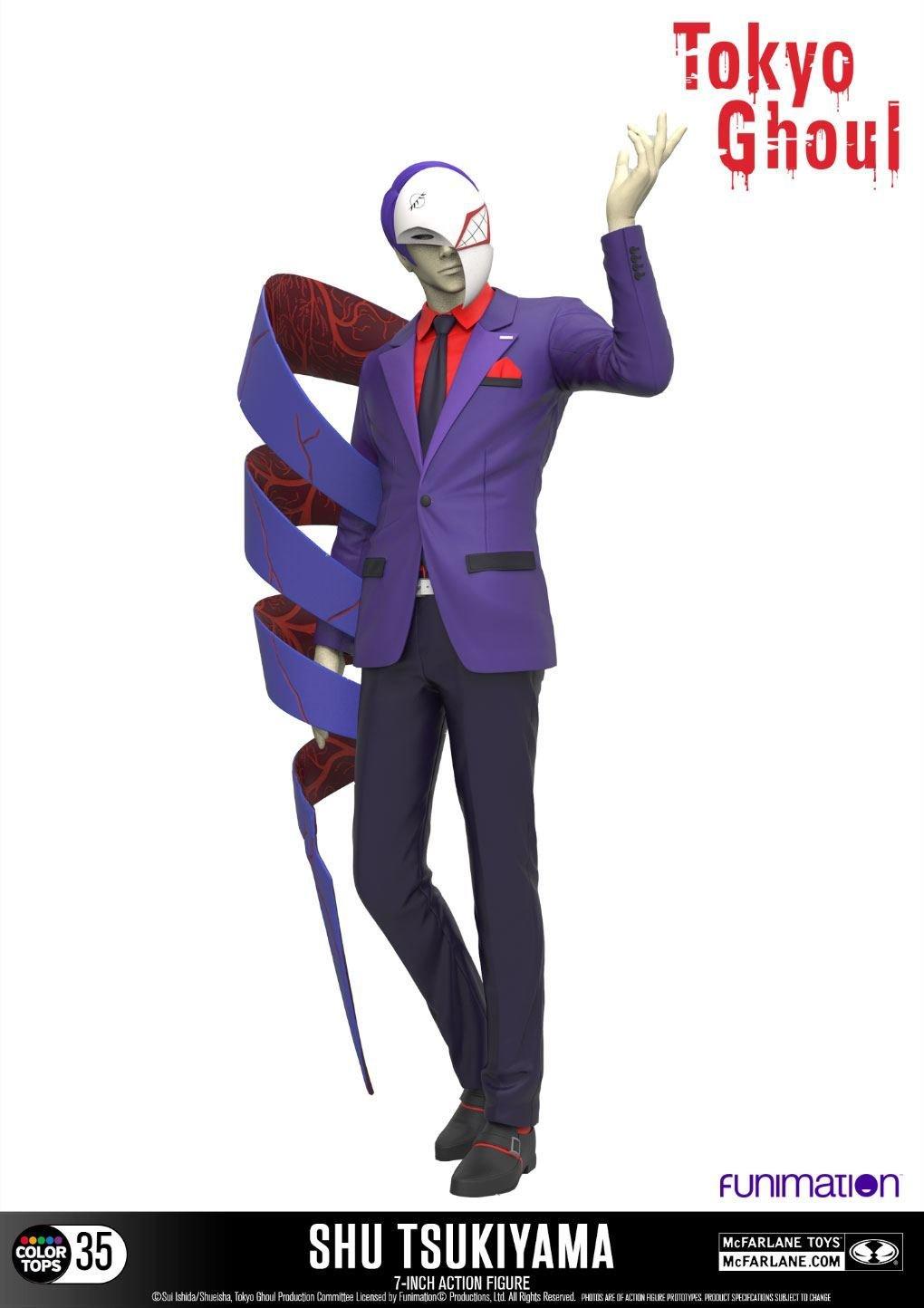 Tokyo Ghoul Color Tops Action Figure Shu Tsukiyama