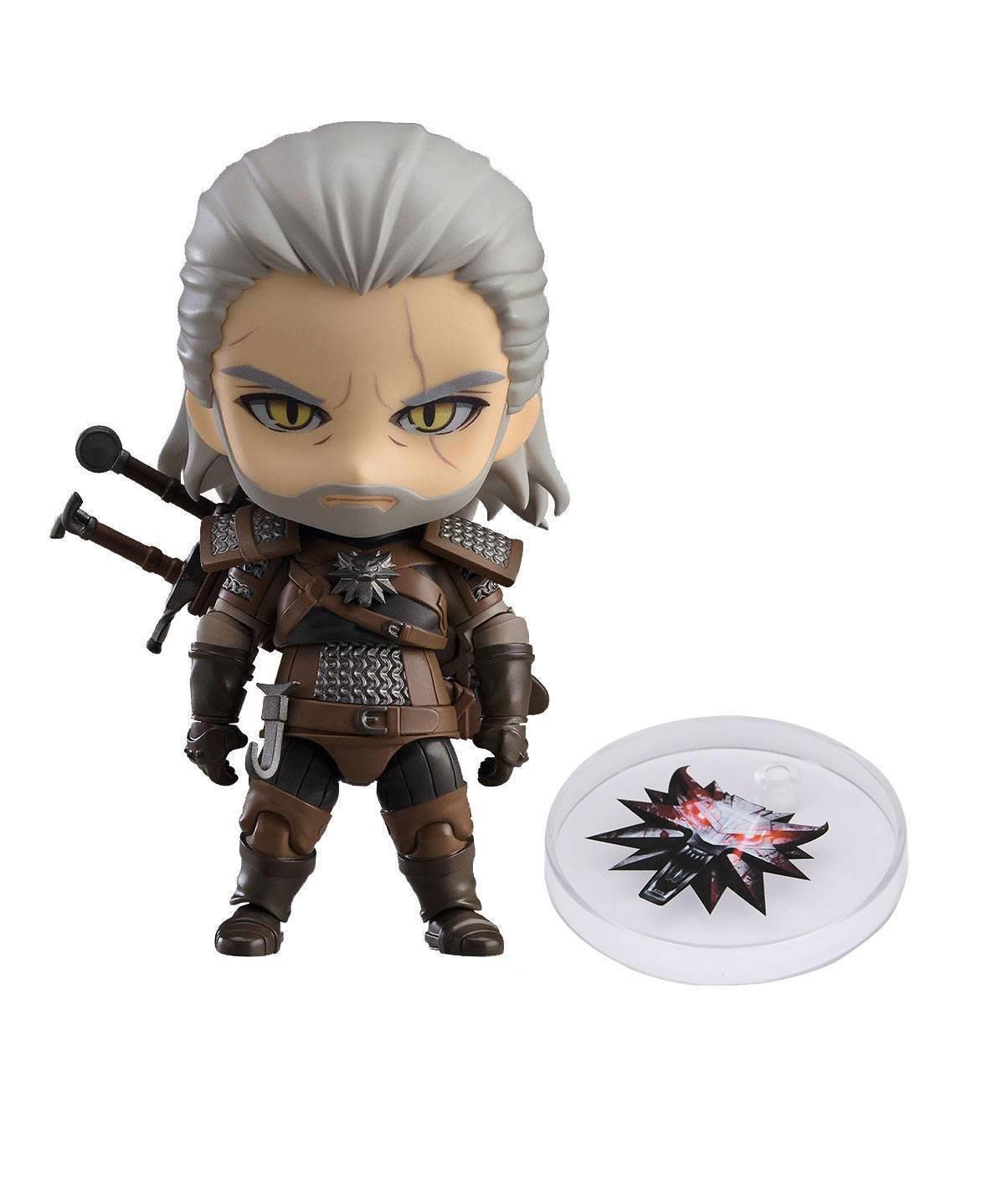 The Witcher 3 Wild Hunt Nendoroid Action Figure Geralt heo Exclusive