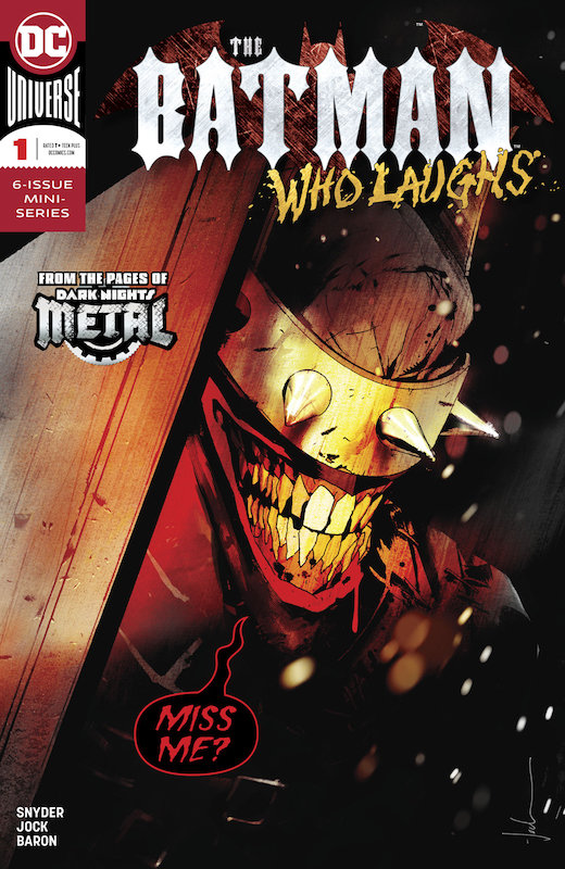 BATMAN WHO LAUGHS #1 (OF 6)