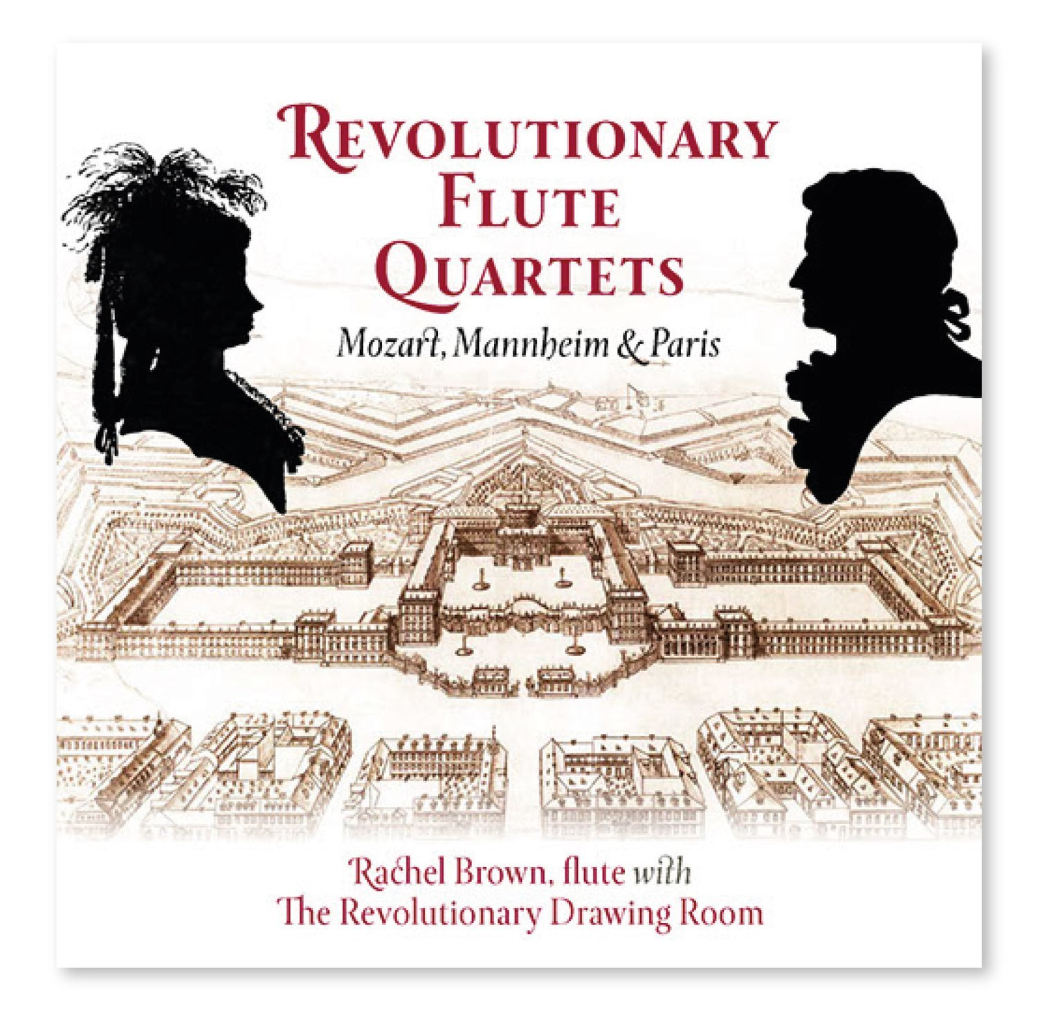 Revolutionary Flute Quartets CD