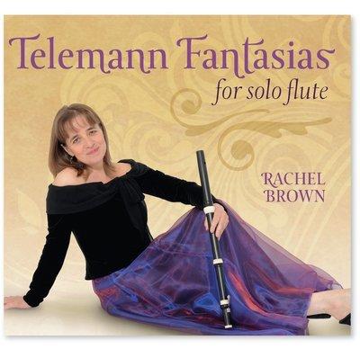 Telemann Fantasias for solo flute