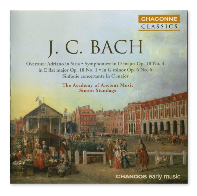 JC Bach Sinfonia concertante C (Chandos)