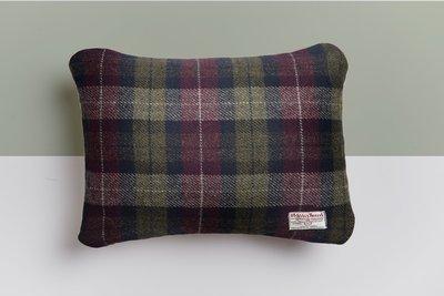 The Hunter Green Cushion (Harris Tweed)