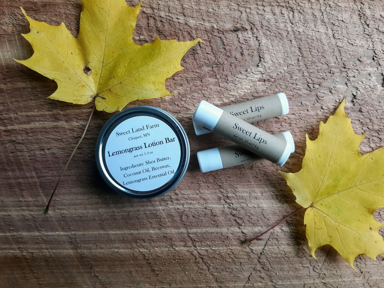 SALE! Combo - Lip Balm and Lotion Bar