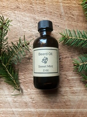 Beard Oil - Sweet Mint