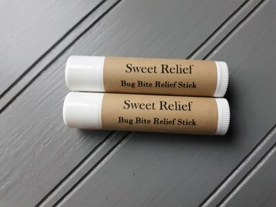 Sweet Relief: Bug Bite Relief Stick 2-pack