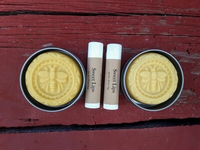 SALE! Combo - Lip Balm and Lotion Bar