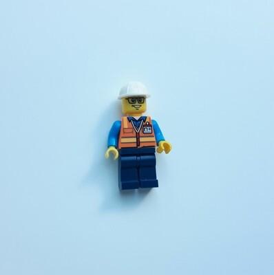Minifigure Soap - Construction Worker