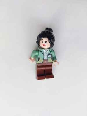 Minifigure Soap - Woman in Green Blazer