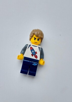 Minifigure Soap - Boy with Rocket Shirt