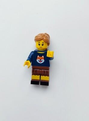 Minifigure Soap - Woman in Fox Shirt