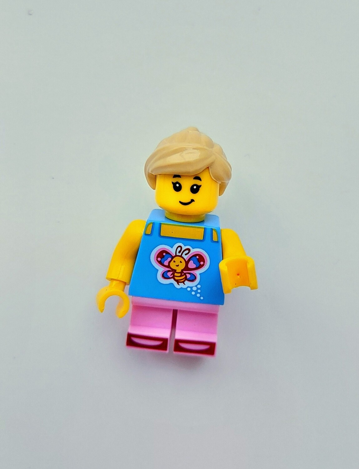 Minifigure Soap - Baby in Butterfly Shirt