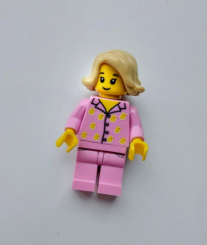 Minifigure Soap - Woman in Pink PJ's