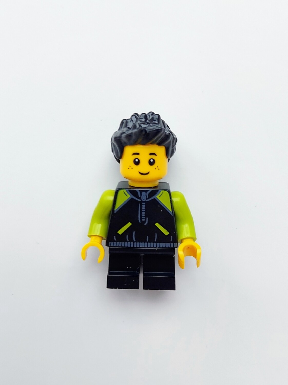 Minifigure Soap - Baby in Black/Green