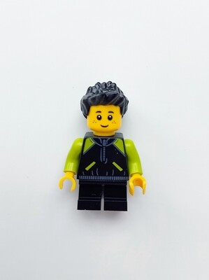 Minifigure Soap - Baby in Black/Green